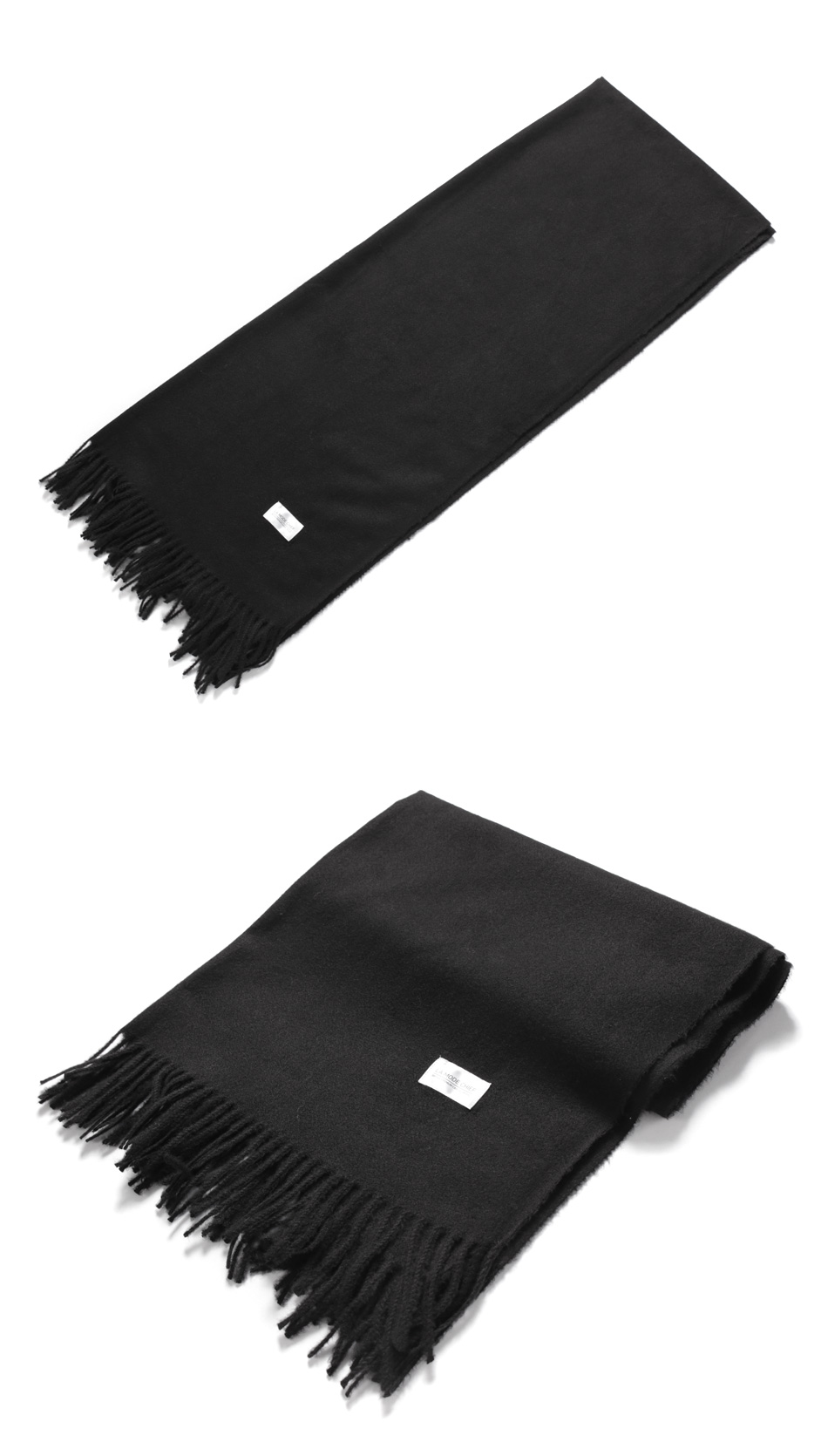 USEFUL LONG MUFFLER (BLACK)